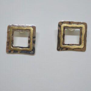 R319auPP-300x300 Pendientes cuadrado con oro