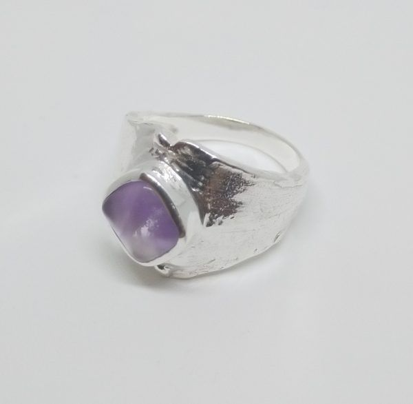 R335SOR-600x586 Anillo ancho piedra cuadrada pequeña